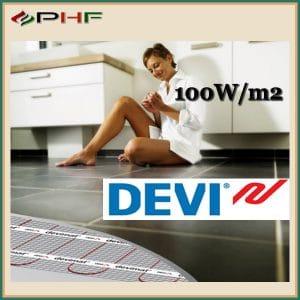 DEVIMAT DEVICOMFORT fűtőszőnyeg, 100W/m2, kéteres kivitel