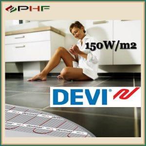 DEVIMAT DEVIHEAT fűtőszőnyeg, 150W/m2, egyeres kivitel