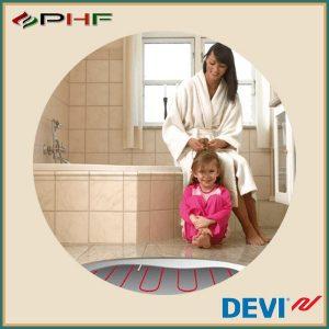 fürdőszobai elektromos padlófűtések