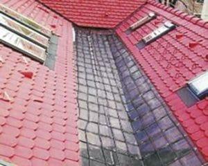 tető vápa fűtése
